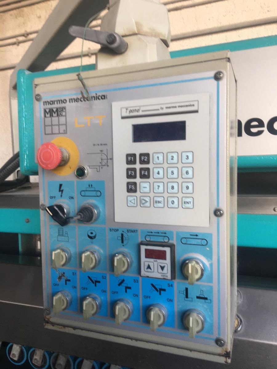 Used bullnose edge polisher - Marmo Meccanica LTT 6221 - Control panel