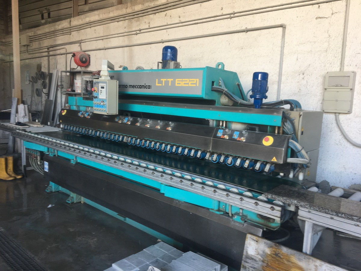 Used bullnose edge polisher - Marmo Meccanica LTT 6221 - Side view 2