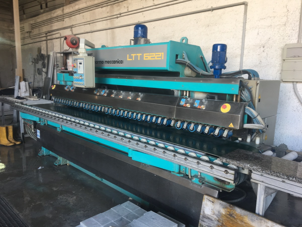 Used bullnose edge polisher - Marmo Meccanica LTT 6221 - Side view 3