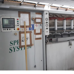 Used edge polisher with bench - Comandulli Speedy System - Preview